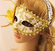 Halloween Nightclubs Child Masquerade Sexy Party Mask Lace Pearl Leather Masks Christmas Accessories
