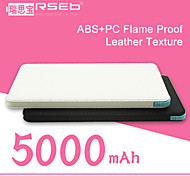 RSEB HY-C50  Universal Portable Power Bank external battery for iphone 6/6 plus/5/5S/Samsung S4/S5/Note2 (5000 mAh)