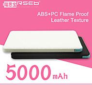 rseb hy-c50 batería externa universal banco portable para el iphone 6.6 más / 5 / 5s / samsung s4 / s5 / Nota 2 (5000 mAh)