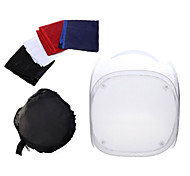 Mini Photo Studio Soft Box Shooting Tent Softbox Cube Box ,60 x 60cm Photo Light Tent+Portable Bag+4 Backdrops