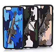 PC Woodland Metal Mobile phone Case for iPhone5/5S Assorted Color