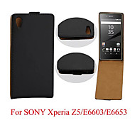 Flip Leather Magnetic Protective Case For Sony Xperia Z5