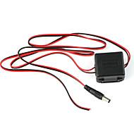 dearroad 24v AC / DC adaptador de 12V para conversor de energia para a segurança câmera de CCTV ônibus carro interface de caminhão dc5.5mm