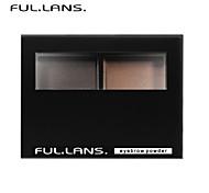 fullilans. morbido polvere del sopracciglio stereo. polvere fine il colore è puro. 2 colori. f-0015 3.8g