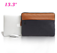 "Fashion Canvas Notebook Laptop Sleeve Bag Computer Case Protective Shell for Apple Macbook Pro Air 13.3"" with Retina"