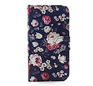 цветы шаблон PU кожаный чехол для телефона Samsung Galaxy S3 9300 / S4 9500 / S5 9600