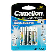 Camelion Digi Alkaline Primary Batteries Size AAA (4pcs)
