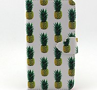 Pineapple Pattern PU Leather Phone Case for Samsung Galaxy J5