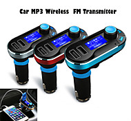 auto mp3 trasmettitore fm wireless usb sd tf card 12v ~ 24v