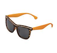 Sunglasses Men / Women / Unisex's Classic / Retro/Vintage / Sports Rectangle Black / Blue / Green / Leopard Sunglasses Full-Rim