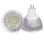 3W MR16 350LM Warm/Cool White Light LED Spot Lights(12V)