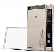Transparent Silicone Back Cover For Huawei P8