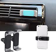 sílice gelsilica gel coche salida de aire de montaje soporte para teléfono salida para iphone y otros (por debajo de 5,5 pulgadas)