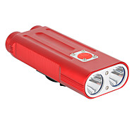 Flashlights Cree XM-L T6 2-LED 7-Mode White Light Bicycle Lamp (Assorted Color)