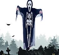 trajes de Halloween gritando fantasias de fantasmas