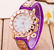 L.WEST Fashion High-end More Drilling Quartz Watch Cool Watches Unique Watches
