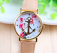 Woman's Watch Anchor Belt Can Wear Gold Hook Fashion Watch