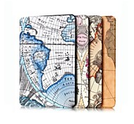 10.1 Inch Map Pattern High Quality PU Leather Case for Amazon Fire HD 10(2015)(Assorted Colors)
