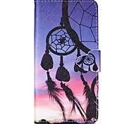Dreamcatcher Pattern Full Body Cover with Card Slot for Samsung Grand Prime