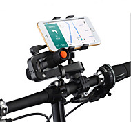 Phone Holder Stand Mount Bike / Motorcycle / Outdoor Handlebar Adjustable Stand Plastic for Mobile Phone