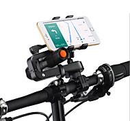 bicicleta suporte do telefone móvel para o iPhone, Samsung, HTC, Nokia, painço, Huawei, ZTE e outro grande tela do telefone inteligente