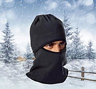 Ski Balaclava Hat Balaclava Bike Breathable Thermal / Warm Windproof Dust Proof Women's Men's Black Fleece