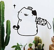 Animals / Cartoon / Fashion Wall Stickers Plane Wall Stickers Kitten PVC Wall Stickers W36cm x L30cm (W14'' x L11.8'')