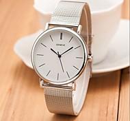 New Famous Brand Silver Casual Geneva Quartz Watch Women Metal Mesh Stainless Steel Dress Watches Relogio Feminino Clock