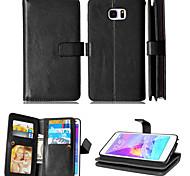 Mappe Halter + Cash-Slot + Fotorahmen Magnet Leder-Tasche für Samsung Galaxy Note 3/4 note / note 5