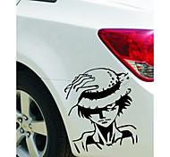 pegatinas de coches 3d decoración del cuerpo de coche pegatina carácter etiqueta de dibujos animados