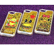 Quicksand Cute Yellow Duck Cases for iPhone6/iPhone 6s(Assorted Colors)