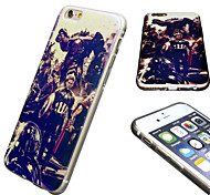 iPhone 6 Case Marvel The Avenger Mirror Back Blue Cover Case Free with Headfore HD Screen Protector for iPhone 6