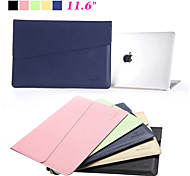 "High Quality Waterproof PU Leather Laptop Sleeve Bag Notebook Case Cover for Apple Macbook Pro Air 11.6"" with Retina"