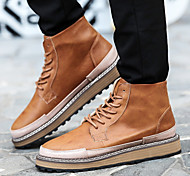 Men's Shoes Office & Career / Athletic / Casual Boots Black / Brown / Gray
