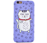 Naughty Cat Pattern Ultra-High Quality Scrub Scratch Does Not Fade Phone Case for iPhone 6/6S