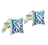 Green, Spear Design Men's Cufflinks