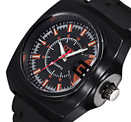 Vogue Luminous Analog Silicone Band Quartz Watch Men Fashion Casual Outdoor Sports Watches Boys Luxury