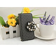 New Style The Wallet Following PU  Mobile phone Case for iPhone4/4S