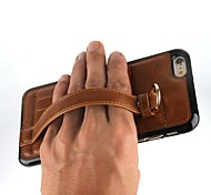Hand Buckle New Style PU for Mobile phone Case for iphone 6