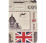 der Umschlag Gestaltung london PU-Leder Ganzkörper-Fall mit Standplatz und Kartensteckplatz für ipad mini 4