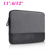 "Ultra Book Genuine Leather Shockproof Laptop Sleeve Case Notebook Bag Inner Pocket for Apple Macbook Air/Pro 11.6""/12"""