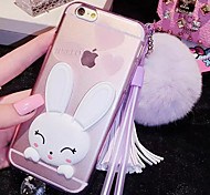 LADY®Cartoon/Personality Phone Case/Cover for iphone 6/6s(4.7) with Silicone Material, More Colors Available