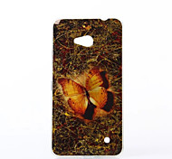 Mysterious Butterfly Pattern TPU Soft Case for Nokia N640