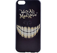 Teeth Pattern PC Material Phone Case for iPhone 5C