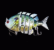 1 pc Esche rigide / Esca Esche rigide Verde 14 g Oncia,80 mm pollice,Plastica dura Pesca di mare
