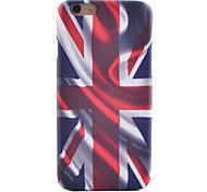 Union Jack Stereo Pattern Ultra-High Quality Scrub Scratch Does Not Fade Phone Case for iPhone 6/6S