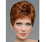 Deep Brown Curly Top Quality Short Wig For Woman