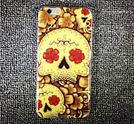 MAYCARI® Romantic Skulls Transparent TPU Back Case for iPhone 6/iphone 6S