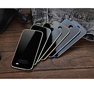 LUPHIE Aluminum Metal Frame Bumper Tempered Glass Back Cover Case For SAMSUNG GALAXY S4