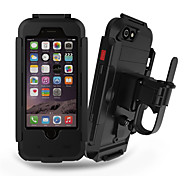 PC Popular Brands Waterproof Stent Bike Mobile phone Case for iPhone5S/5